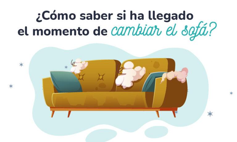 Cambiar el sofá
